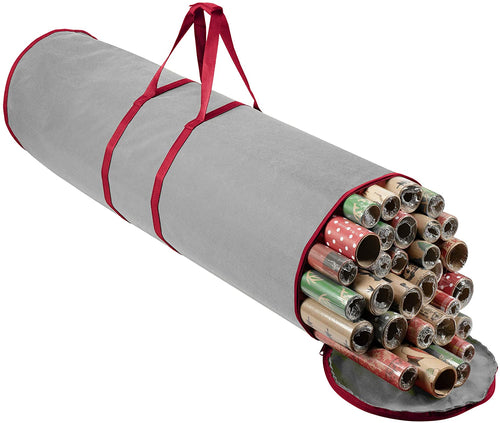 Round Gift Wrap Storage Bag Fits 20 Rolls, 41
