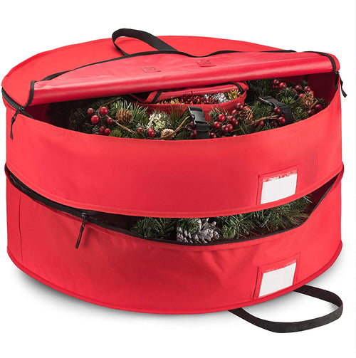 Double Artificial Christmas Wreath Storage Bag 30