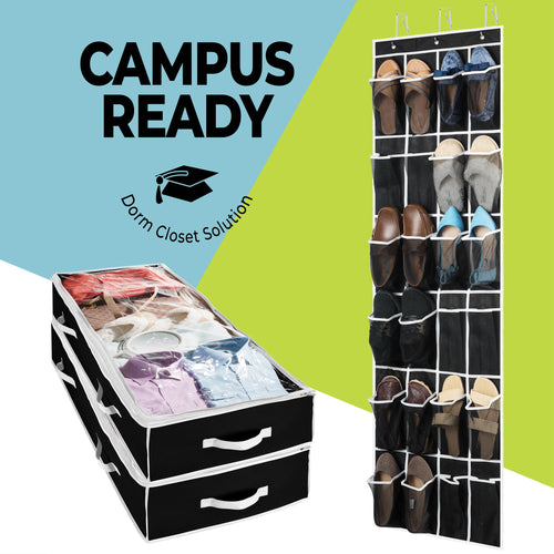 College Storage Package - Black