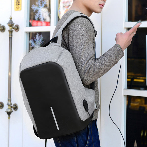 Multifunction USB charging Men Laptop Backpacks For Teenager Fashion Male Mochila Leisure Travel backpack