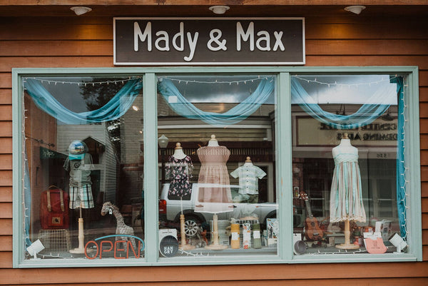 mady & max children's boutique bigfork