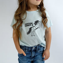 Cotton Candy & Unicorns Infant & Toddler Tees - Light blue