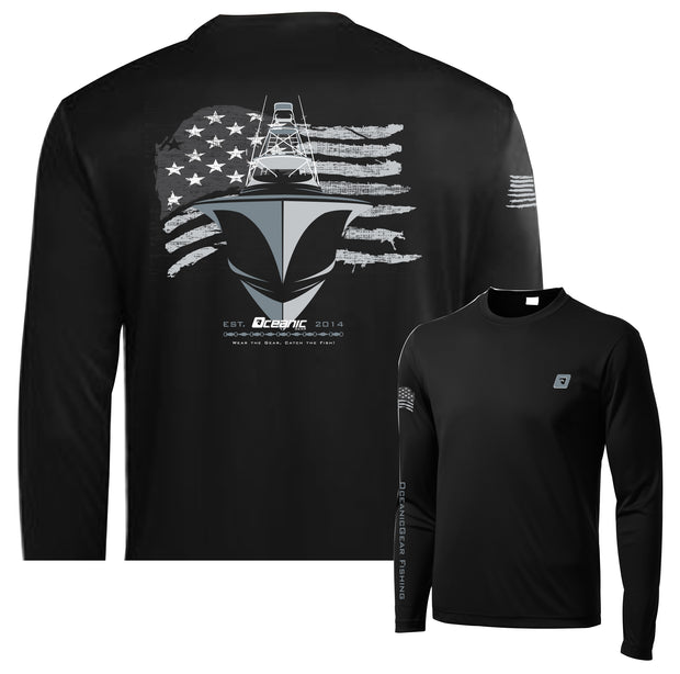American Offshore Performance LS Tee