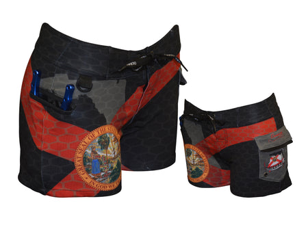 Women's Florida Pride Boardshorts