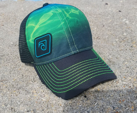 OceanSmoke Performance Trucker Cap
