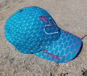 Mermaid & Mantas  Adjustable Cap