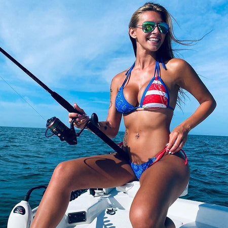 Offshore Patriot FishKini Triangle Top