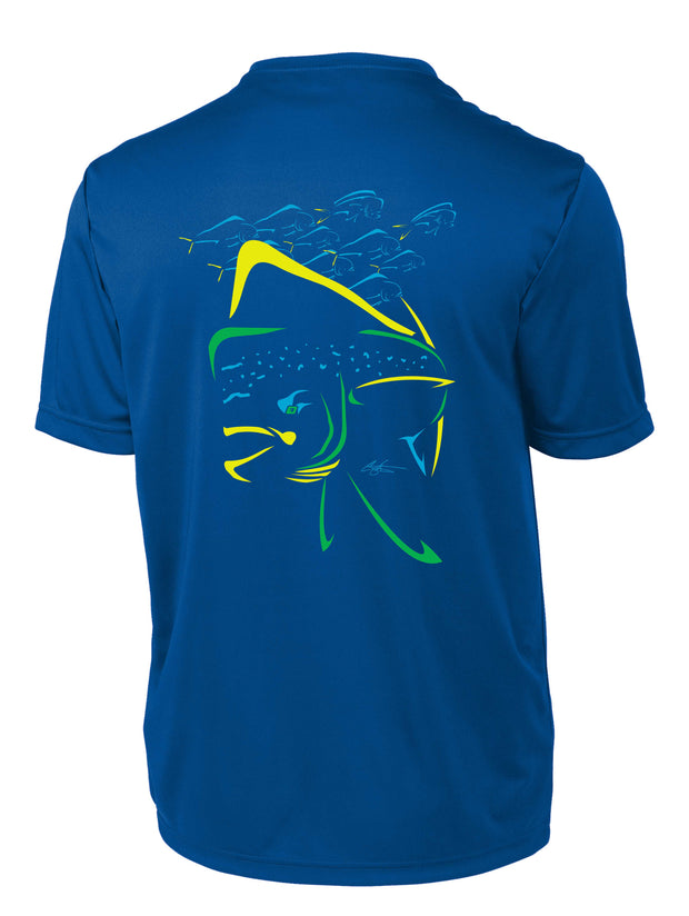 Mahi Mania Short Sleeve Performance Shirt