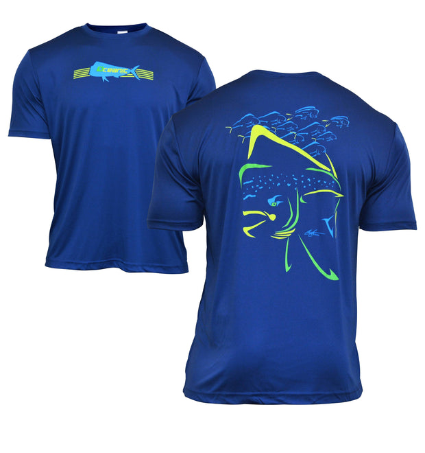 Mahi Mania Performance Short Sleeve