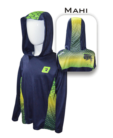 Kid's Mahi Pro-Series Hooded Shirt