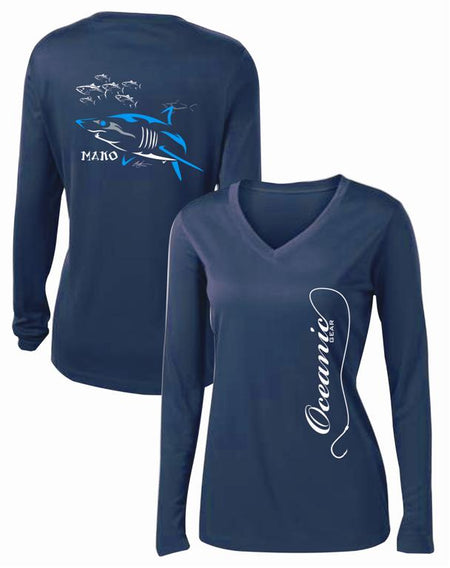 Mako Mangler Lady's Performance Shirt