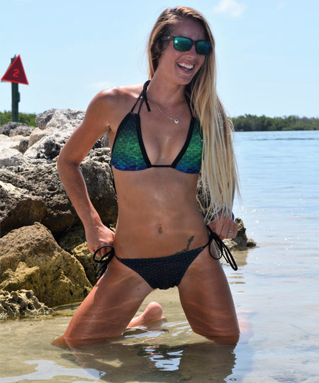 OceanSmoke FishKini Tie Side Bottoms