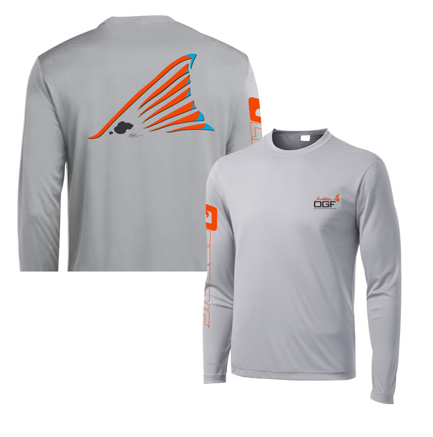 "2020 Redtail ""Redfish"" Performance LS Tee"