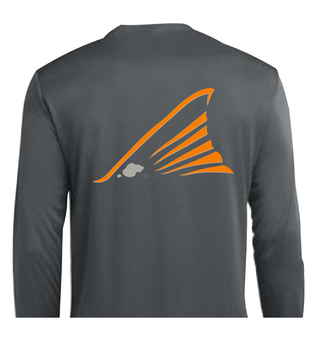 Kid's Redfish Performance LS Tee (Closeout)