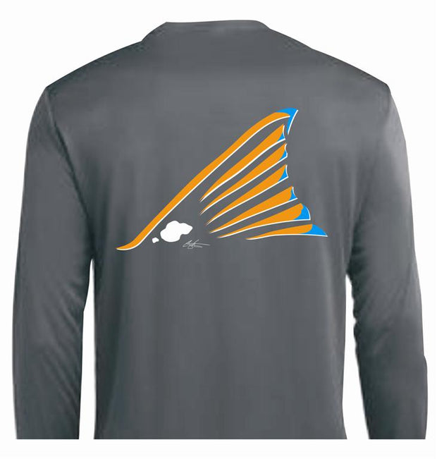 Redfish Kid's Performance LS Shirt