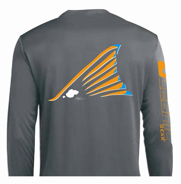 "Redtail ""Redfish"" Performance LS Tee"