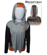 Kid's Redfish Pro-Series hooded Shirt