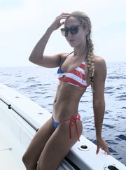Offshore Patriot FishKini Tie Side Bottoms