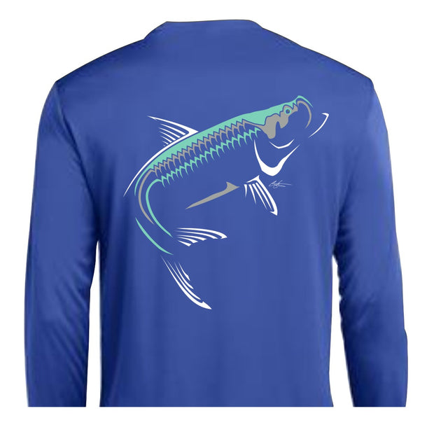 Kid's Tarpon LS Performance Tee (Closeout)