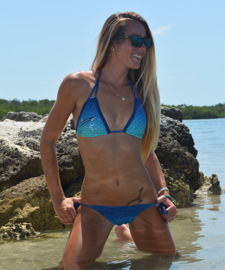 Tarpon Tamer FishKini Tie Side Bottoms