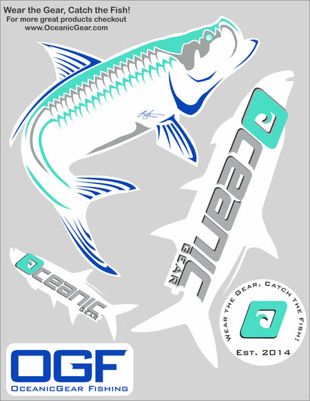 Tarpon Tamer Decal Sheet