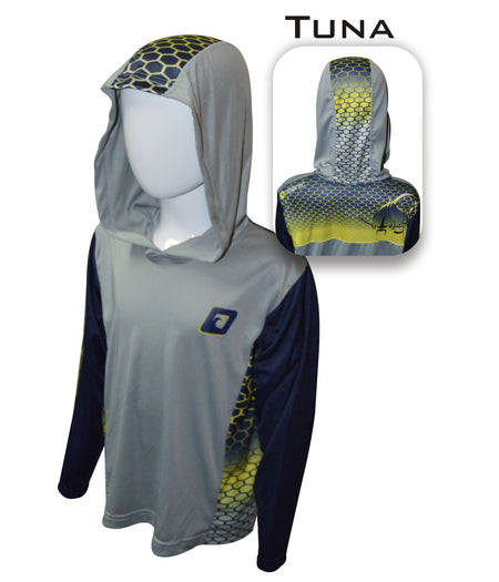 Kid's Tuna Pro-Series Hooded Shirt