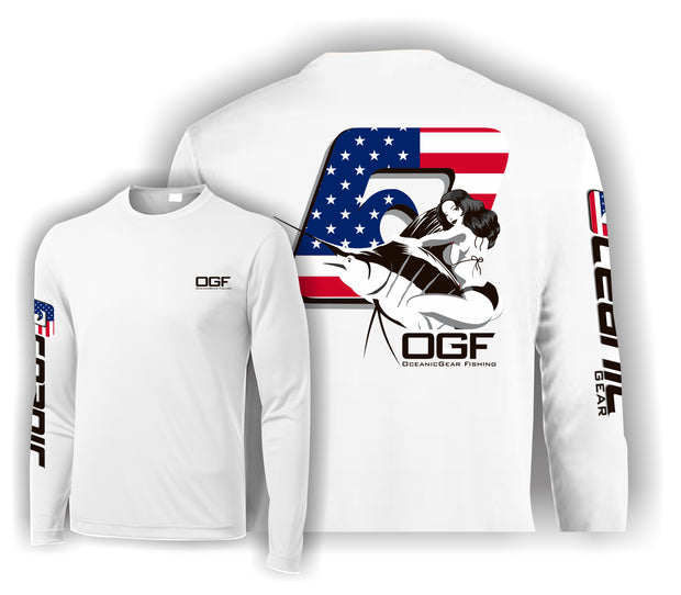 "American ""Bill Rider"" Performance Long Sleeve Tee"
