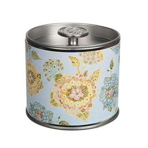 Tin Greenleaf candle