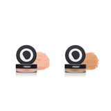 Set of Priori Mineral Foundation Loose Powder and Uber Finishing Powder - Shade 3