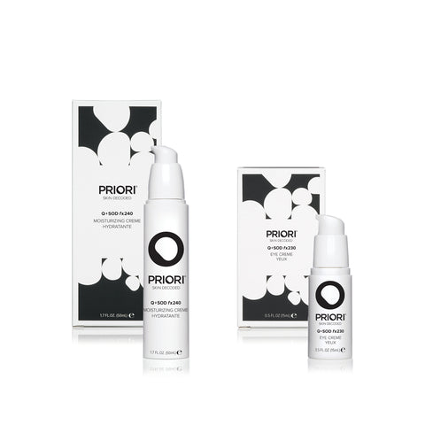 Hydrate + Rejuvenate Ultimate Face and Eye Duo | Priori Holiday Sets