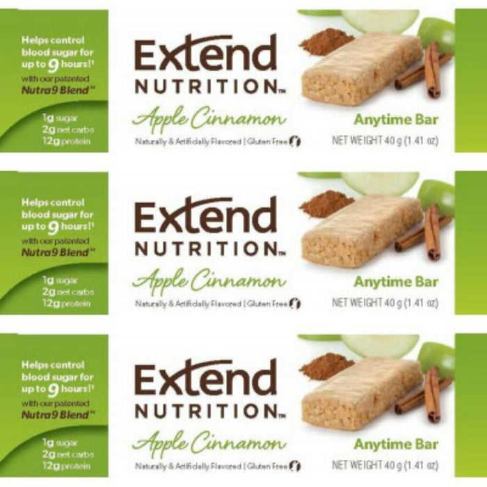 Extend Nutrition, Protein Bars, Variety Pack, Pack of 15