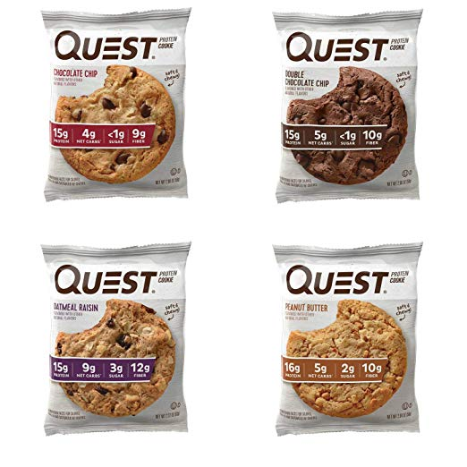 Quest Protein Cookie, Variety Pack, 12