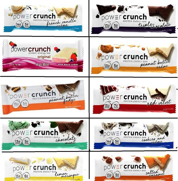 Power Crunch Protein Bars,
