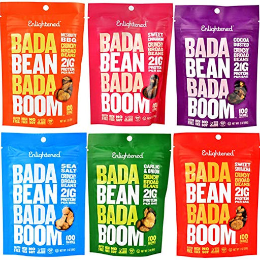 Enlightened Bada Bean Bada Boom Crisps 3 oz (6)
