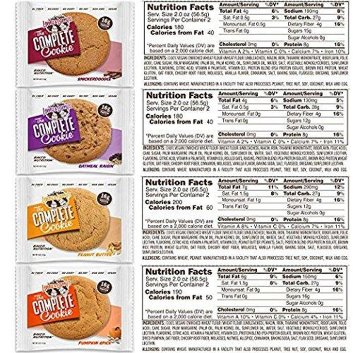 Lenny and Larrys The Complete Cookie - Vegan Protein Cookies