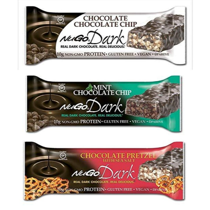 NuGo Dark Variety Pack 12 Count