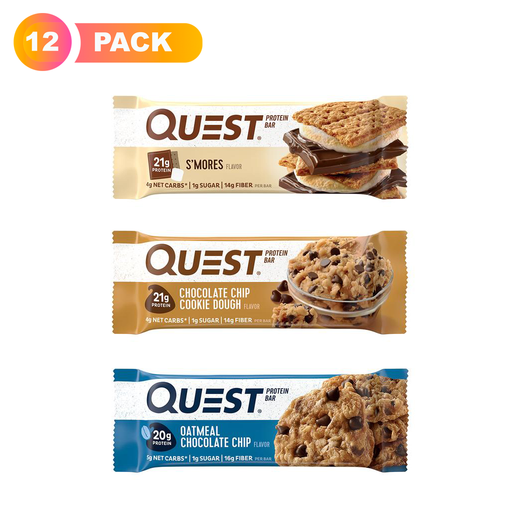 Quest Nutrition Protein Bar Variety Pack,