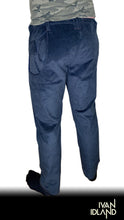 Blue-Black Corduroy Pant