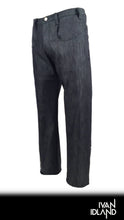 black denim signature pant