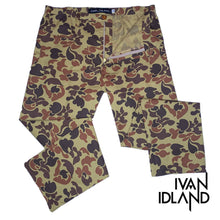 Folksy Camouflage Pant