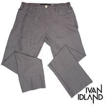 Stripey Grey Cotton Pant