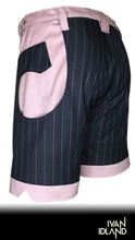 Pink and Black Tuxedo Short