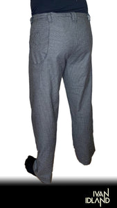 Cotton Suiting Dad Pant