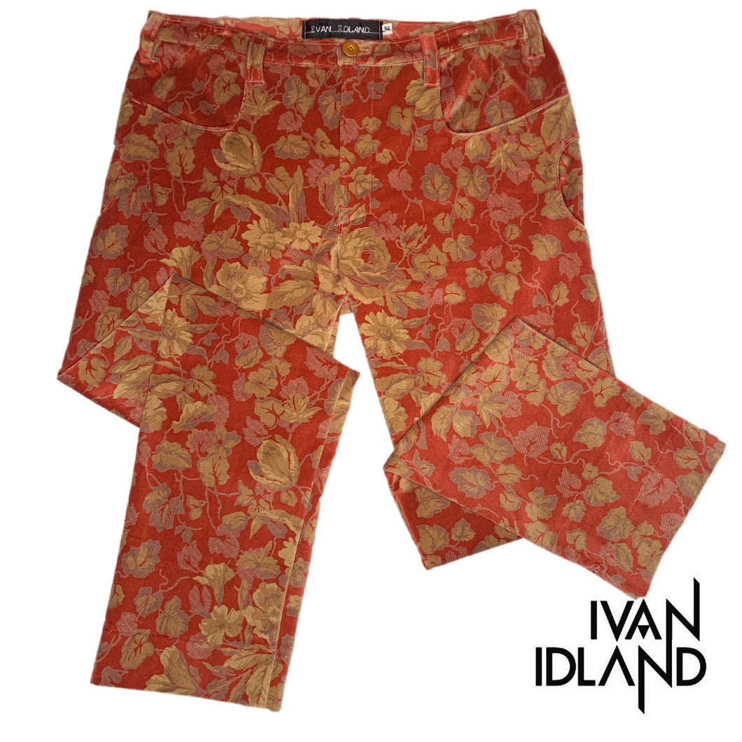 Velvet Ivy-League Holiday Pant