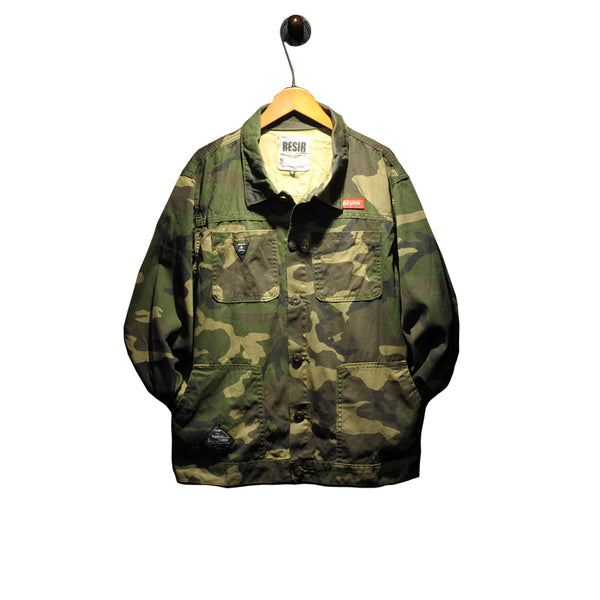 Supreme Camo Button down