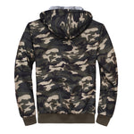 Casaco Camouflage Hooded Coat