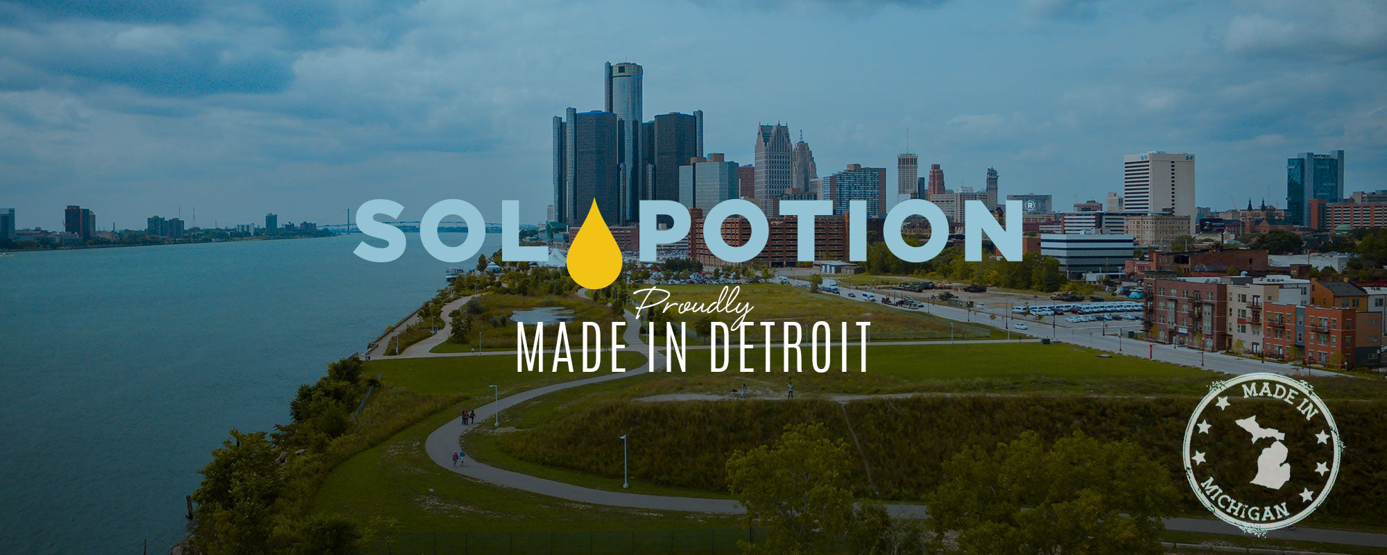 SolPotion is Proudly Made In Detroit, Michigan | Sol Potion Sunless Tanning | Best Spray Tan Solutions and Skincare