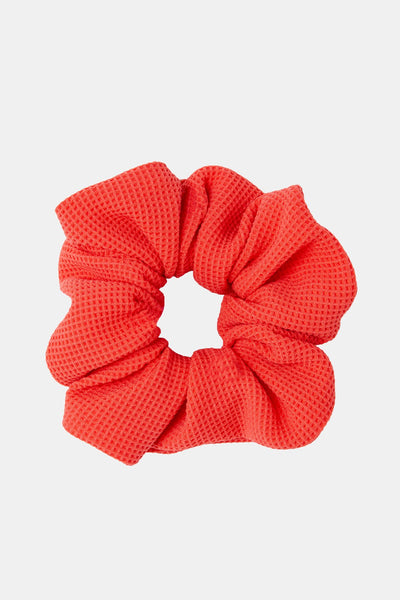 The Scrunchie - Red Pique