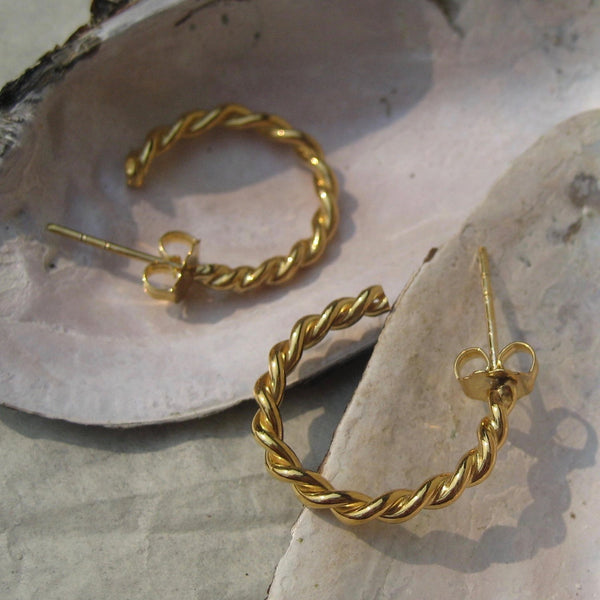 Anatolia Small Hoop Earrings