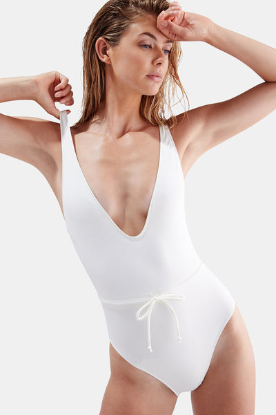 The Michelle V Neck One-Piece